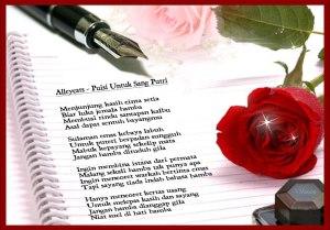 Gambar Puisi Rindu